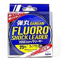 Major Craft Strong Fluoro Carbon Shock Leader Dangan - Cuchilla de 25 lb/15,1 kg/0,440 mm