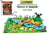 #9: TOY-STATION - Exclusive Animal Play Sets (World of Dinosaurs - 111 PCS with Play MAT)