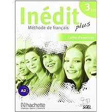 Inédit Plus 3: Cahier d'exercices - 9788497786874