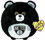 Ty Beanie Ballz Brooklyn Nets Nba Ballz