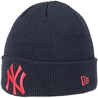 Berretto League Ess Cuff Yankees New Era beanie lavorato a maglia cuffia con  risvolto Taglia unica d838889541d5