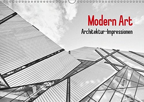 Modern Art. Architektur-Impressionen (Wandkalender 2019 DIN A3 quer): Moderne Architektur in schwarz-weiß (Monatskalender, 14 Seiten ) (CALVENDO Orte)