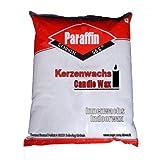 5 kg reines Paraffin 100% Kerzenwachs geruchlos Weiß Schmelzpunkt ca 55 C° als Granulat
