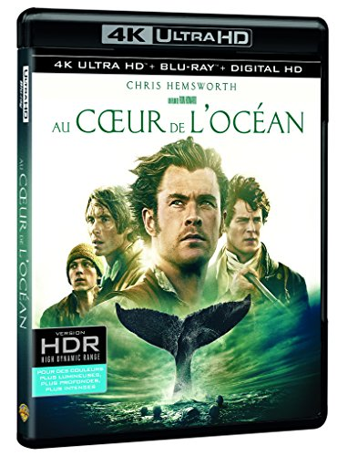 Au coeur de l'océan 4K Ultra HD + Blu-ray [4K Ultra HD + Blu-ray + Digital UltraViolet]