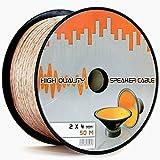 Cavo per altoparlanti CCA rame trasparente PVC dielettrica, Speaker HIFI scatole Cable