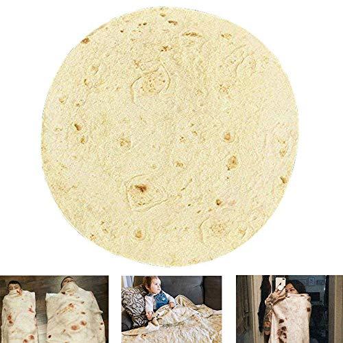 FOONEE Neuheit Burrito Decke, Comfort Mikrofaser Tortilla Decke Riesigen Menschlichen Burrito,...