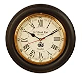 12 inch size Wooden antique clock/ nauti...