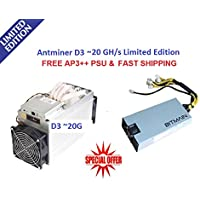 NEW Antminer D3~ 20GH/S Limited Edition X11with APW3+ + PSU (Ready To Ship)