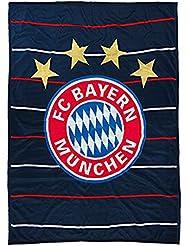 FC Bayern 20431 Stripes Couverture polaire à rayures