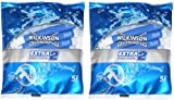 2 x 5 pack = 10 WILKINSON SWORD EXTRA 2 PRECISION - DISPOSABLE RAZOR BLADES