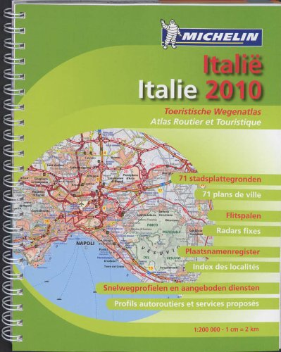 ITALIE 22468 ATLAS MICHELIN 2010 (ATLAS(SEN) MICHELIN)