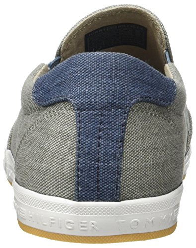 Tommy Hilfiger Herren H2285owell 2d2 Sneakers Grau (Light Grey 007) 6LcGPHFX