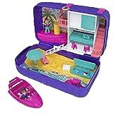 Unbekannt Mattel FRY40 Polly Pocket Hidden Places Strandspaß-Rucksack Spielset