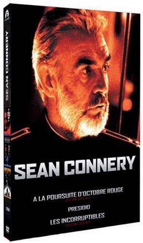 Coffret Collection Sean Connery 3 DVD : Presidio / A la poursuite d'Octobre Rouge / Les Incorruptibles