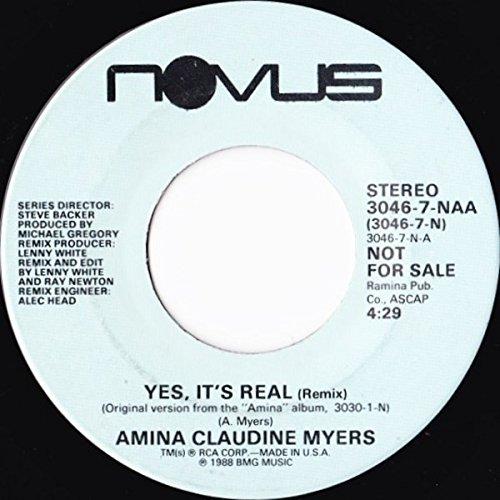 Yes, It's Real (Remix) [Vinyl Single 7''] - Naa Single