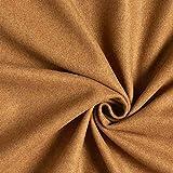Fabulous Fabrics Mantelstoff Uni leicht angeraut –
