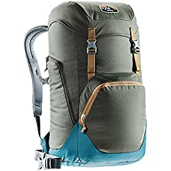 Deuter Walker 24 Mochila Urbana, Unisex Adulto, Marrón (Coffee / Denim), Talla Única