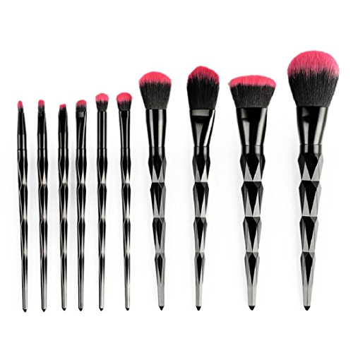 saihui 10 Stücke Diamanten Make-Up Pinsel Set Lidschatten Pinsel Kosmetik Blending...