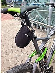 Neopreno Bolsa para sillín bicicleta bolso Bike Case MTB Cube Trek Ghost Rotwild