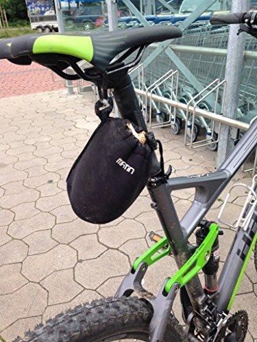 Neoprene sella bike bicicletta borsa MTB tasche Cube Trek Ghost rotwild
