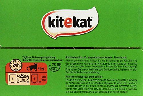 Kitekat Katzenfutter Bunte Vierfalt in Soße, 48 Beutel (1 x 48 x 100 g) - 5