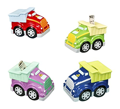 Dump Truck Banks Assorted Ceramic (1 Piece) Toys/Baby Shower/Banks/Holidays