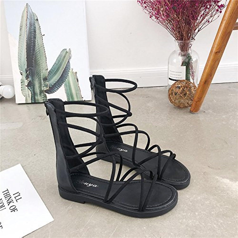 ITTXTTI Sandalias de Las Mujeres Zapatos de Playa de Verano para Estudiantes Set de pies Zapatos Sandalias de... -