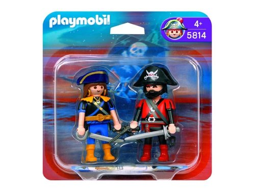 Playmobil - 5814 - Duo pirate et corsaire