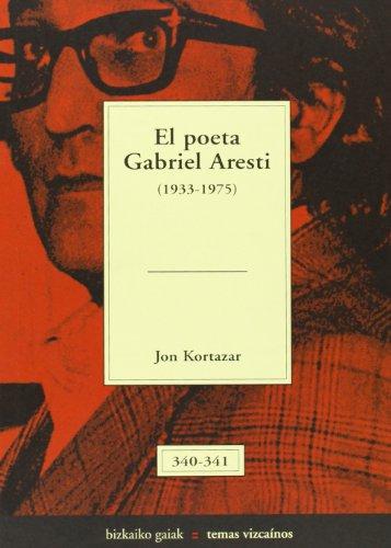 Poeta Gabriel aresti, el (1933-1975) (Bizkaiko Gaiak Temas Vizcai) por Jon Kortazar