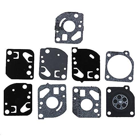 HIPA GND-18 Kit Joints de Réparation pour les Séries de Carburateur ZAMA C1Q C1U Coupe-bordures Ryobi