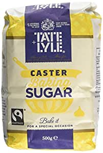 Tate and Lyle Fairtrade Caster Sugar 500 G (Pack of 10)