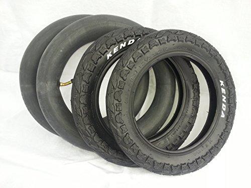 Kenda 2x Reifen + Schlauch Set 12 Zoll Kinderwagen 12 1/12 x 2 1/4 62-203, 30000262 - 2.25