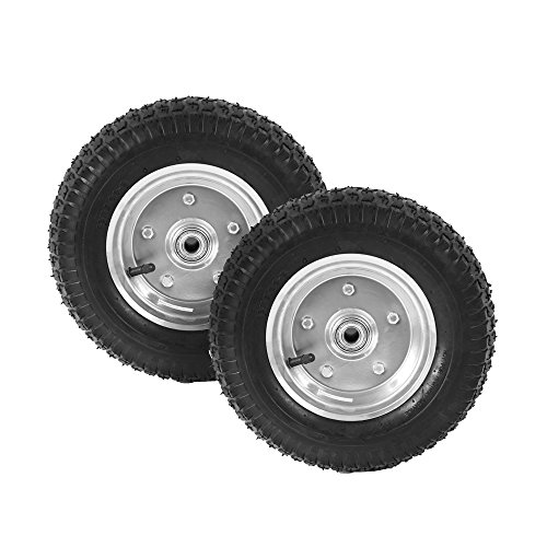 pandamoto-2-x-13-black-sack-truck-hand-trolley-cart-wheelbarrow-pneumatic-wheel-tyre-tires