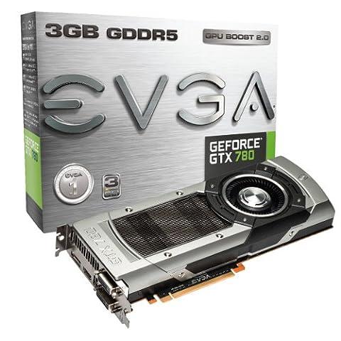 EVGA NVIDIA GeForce GTX 780 Grafikkarte (PCI-e, 3GB GDDR5 Speicher, DVI, 1 GPU)