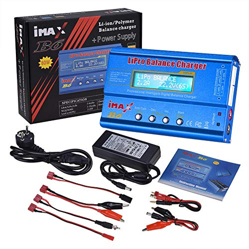 LanLan iMAX B6 80W 6A Ladegerät Lipo NiMh Li-Ion Ni-Cd Digital RC Balance Ladegerät Digital Balance