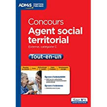 Concours Agent social territorial - Catégorie C - Tout-en-un - Concours externe