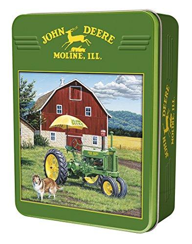Company John Deere Traktor Ride Collectible Puzzle Dose (John Deere Company)