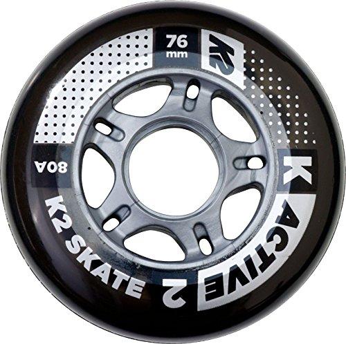 K2 Rollenset 76 mm Active Wheel 8-Pack /ILQ 5, mehrfarbig, One Size, 30B3008.1.1.1SIZ