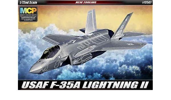Academy 1//72 Lockheed-Martin F-35A Lightning II USAF # 12507