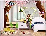 BHXINGMU Murales Personalizados Parejas Románticas 3D Gran Decoración De La Pared Del Hotel. 300Cm(H)×450Cm(W)