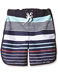 Pumpkin Patch Boy's Multi Stripe Boardies Shorts