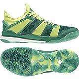 adidas Stabil X, Zapatillas de Balonmano Para Hombre, Verde (Bold Green/Semi Frozen Yellow/Collegiate Green), 44 EU