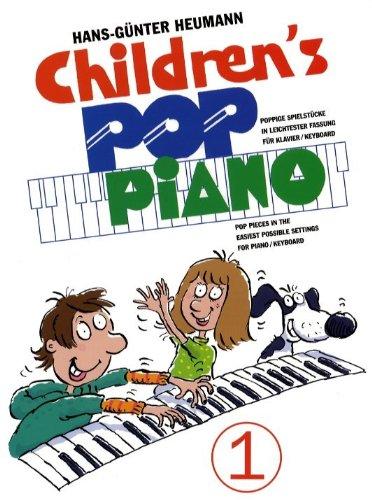 Children's Pop Piano 1. Für Klavier, Keyboard