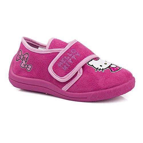 Hello Kitty, Pantofole bambine Rosa rosa, Rosa (rosa), 29