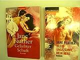 Sammlung / Bücherpaket / Konvolut Bücher, 2 Bücher von Jane Feather, 1. Geliebter Schuft, 2. Bleib ungezähmt, mein Herz,