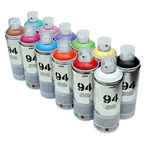 mtn-94-spray-paint-12-x-400-ml-aerosol-spray-farbe-dosen-matt-finish-synthetik