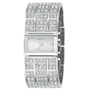 DKNY - NY3713 - Montre Mode Femme - Empierrée - Quartz analogique - Bracelet en Acier