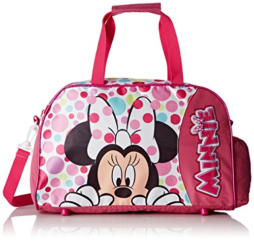 Artesanía Cerdá Minnie Bolsa de Deporte Infantil, Color Rosa