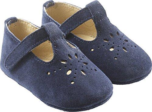 4022563f5b6bd Tichoups chaussures bébé cuir souple salomé marine