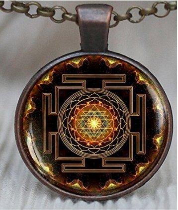 sri-yantra-pendant-sacred-geometry-jewelry-sri-yantra-jewelry-jewelry-for-men-necklace-for-men-sri-y